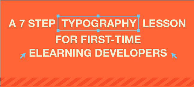 typography eLearning