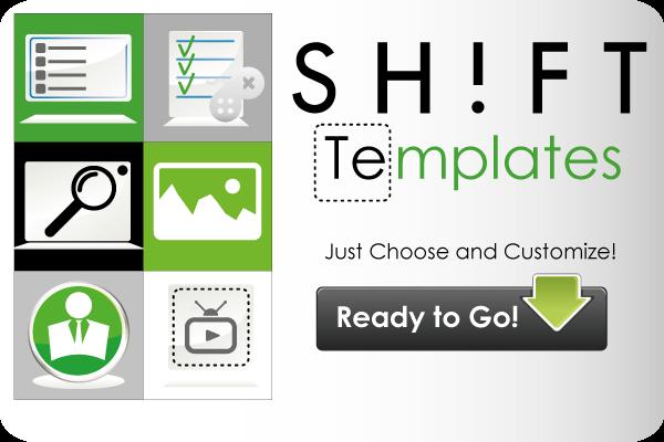 shift templates
